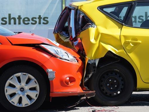 Collisione protetta da RC auto